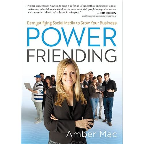 Power Friending - bok av Amber Mac