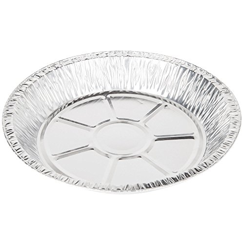 Aluminum Foil Pie Pans from Baker's Mark, 25 Deep Style Pans, 9 inches Diameter (25, 9 inch diameter)