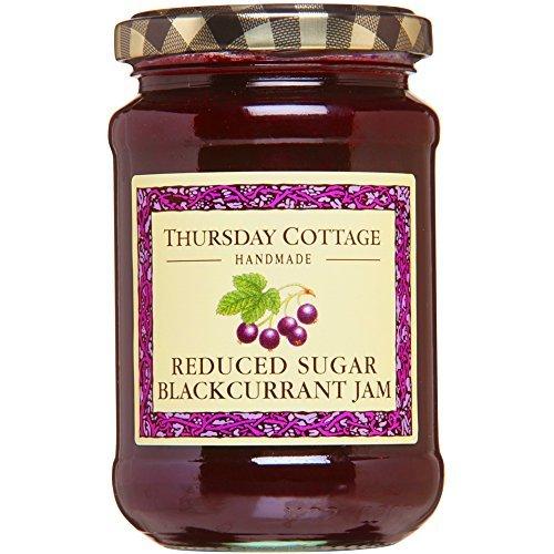 Thursday Cottage Handmade Reduced Sugar Blackcurrant Jam, 315g by Thursday Cottage