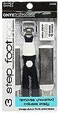 3 Step Miracle Callus Remover Pedicure Tool By Hoof Includes Callus Rasp, File & Razors Refills