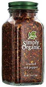 Simply Organic Crushed Red Pepper -- 2.39 oz