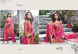 Gangafashions Cotton Fabric Pink Designer Salwar Kameez [GE-6060-Aaina Vol - 2-1]