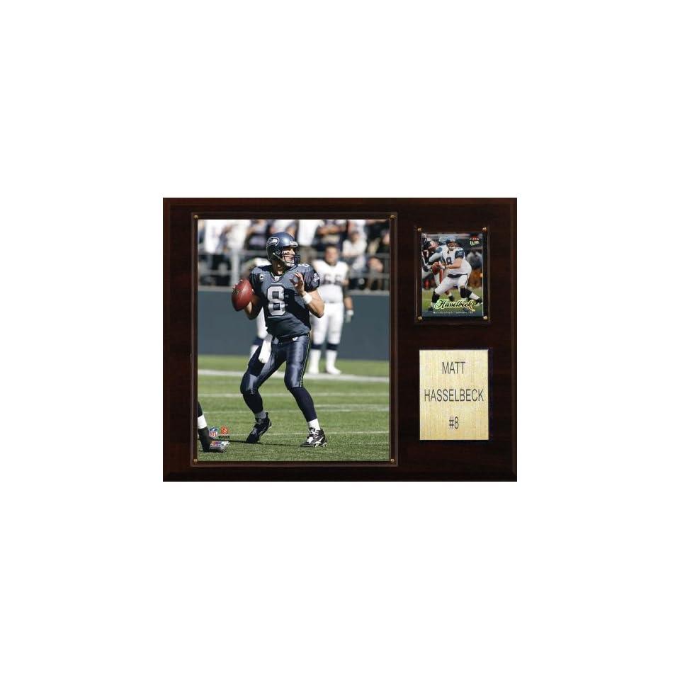 NFL Matt Hasselbeck Seattle Seahawks Player Plaque Sports