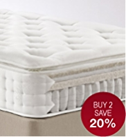 Natural 1500 Pillowtop Mattress - Firm Support - 7 Day Delivery
