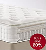 Natural 1500 Pillowtop Mattress - Firm Support