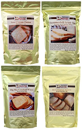 The Prepared Pantry Blue Ribbon Collection of Bread Mixes, 75.9 Ounce (Bread Machine Mixes Variety Packs compare prices)