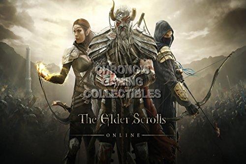 "CGC enorme-Poster The Elder Scrolls Online Xbox 360PS3PS4-eds014, Carta, 24"" x 36"" (61cm x 91.5cm)"