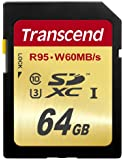 Transcend 64GB Ultimate SDXC UHS Ultra High Speed Class 3 Memory Card