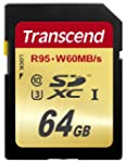 Transcend 64 GB High Speed 10 UHS-3 F...