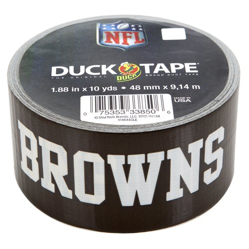 Duck Brand 240501 Cleveland Browns Nfl Team Logo Duct Tape