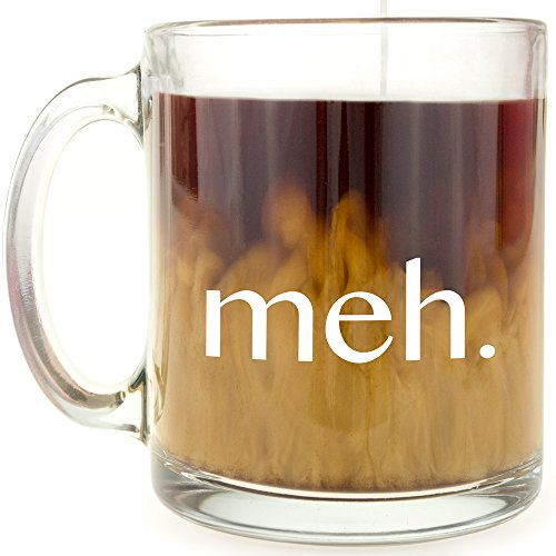 meh. - Glass Coffee Mug (Wooden Coffee Mug Holder compare prices)