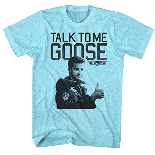 Top Gun 80's Naval Aviator Film Talk To Me Goose