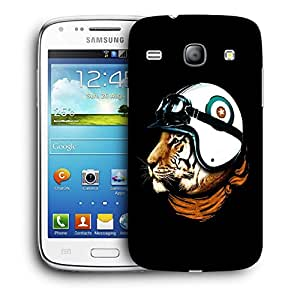 Snoogg Tiger With Helmets Designer Protective Back Case Cover For Samsung Galaxy Core