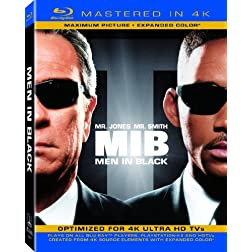 Men in Black (Mastered in 4K) (Single-Disc Blu-ray + Ultra Violet Digital Copy)
