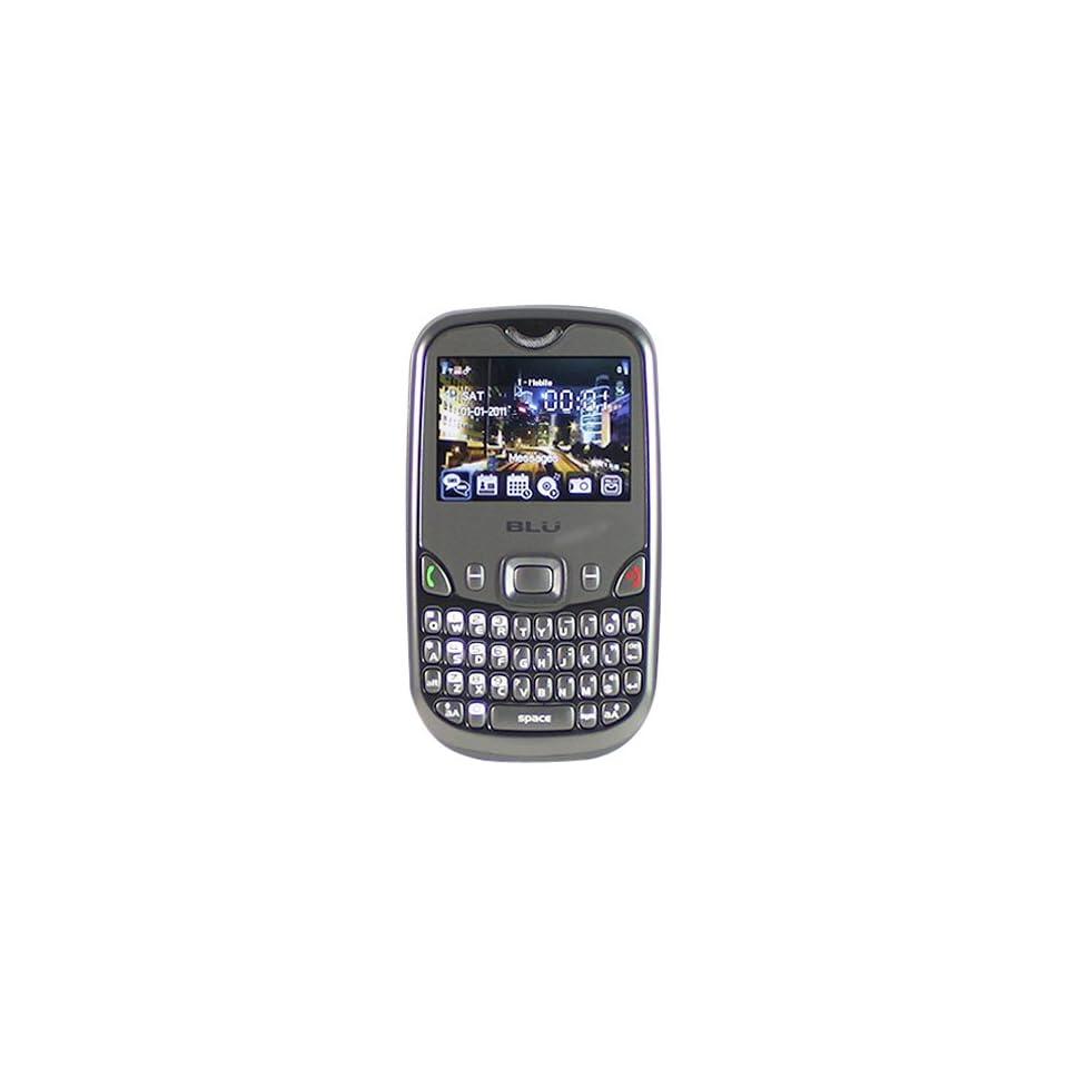BLU Q200E Samba Elite   Unlocked Phone   US Warranty   Retail Packaging   White/Blue