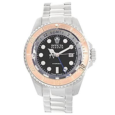 Invicta Men's 16963 Reserve Analog Display Swiss Quartz Silver Watch