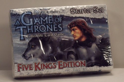 A Game of Thrones Collectible Card Game - Five Kings Edition Starter Set - 1