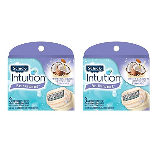 schick-intuition-pure-nourishment-coconut-milk-almond-oil-razor-blade-refill-cartridges-6-count