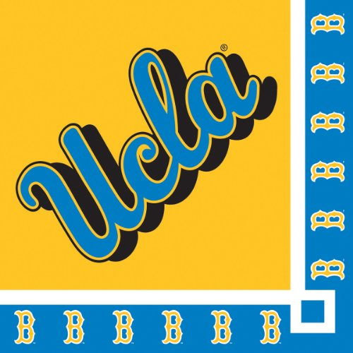 Creative Converting UCLA Bruins Beverage Napkins (20 Count)