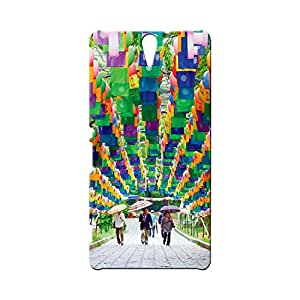 BLUEDIO Designer Printed Back case cover for Sony Xperia C5 - G4887