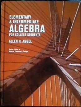 Algebra with trigonometry for college students 5th edition