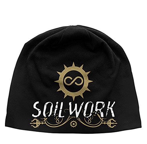 SOILWORK The Living Infinite Discharge Beanie Hat/Berretto, nero, taglia unica