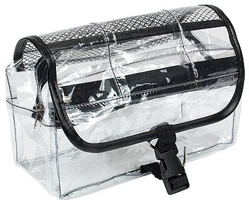 Best Cheap Deal for Vinyl Clear Travel BAG Cosmetic Carry Case Toiletry from Kingsley - Free 2 Day Shipping Available