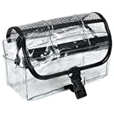 Vinyl Clear Travel BAG Cosmetic Carry Case Toiletry ~ Kingsley
