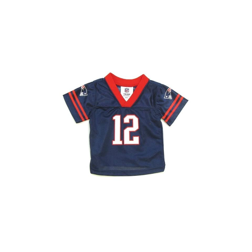 NFL New England Patriots  12 Tom Brady Infant Jersey (6 9 Months) on ... d380d022a