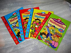Earlybird Kindergarten Mathematics Complete Set 1A, 1B, 2A, 2B (Singapore Math)