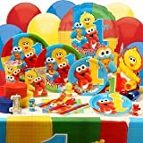 Sesame Street Babies First Birthday Deluxe Birthday Party Kit [Toy]