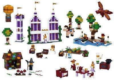 lego spezialsteine haus und garten 9385 pink orange. Black Bedroom Furniture Sets. Home Design Ideas