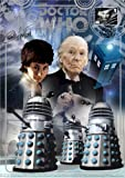 Dr Doctor Who BBC Official 50th Anniversary Limited Edition A4 First Doctor 'Stamped' Art Print - Signed By Carole Ann Ford