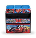 Delta-TB84521CR-Multi-Toy-Organizer-Holz-mit-Canvas-Cars