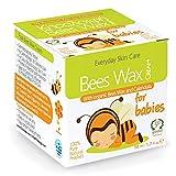 Natürliche und Biologische Reine Bienenwachs Windelcreme - Nappy Cream - Baby Feuchtigkeitscreme - Hergestellt aus Natürlichen Inhaltsstoffen - 50ml - Bietet Schutz und Feuchtigkeit - Nicht-allergene Feuchtigkeitsspende - Heilmitten - Beruhigt und Schützt Trockene