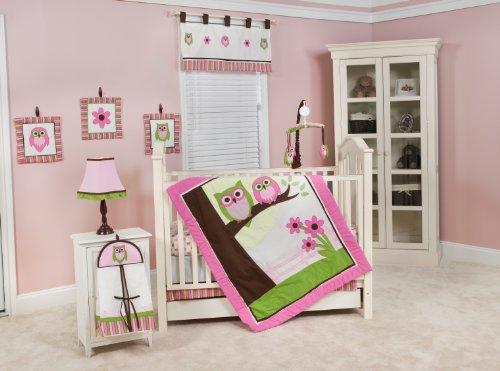Pam Grace Creations 10 Piece Crib Set, Sweet Dream Owls front-721044