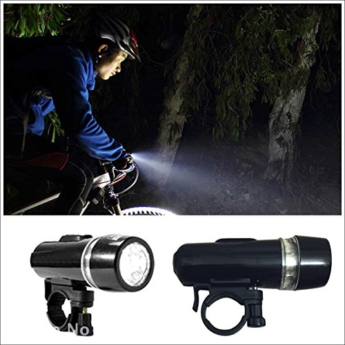 Bike Light Set + Mini Stylus Pen + Antidust Plug for your phone, Best bike accessories - Bicycle light is Super Bright Quick Release 5 LED Headlight and 3 LED Taillight