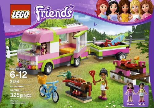 51 qHd4UNFL LEGO Friends 3184 Adventure Camper