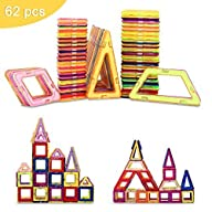 MagicKIDS 62 Pcs Magnetic Building Bl…
