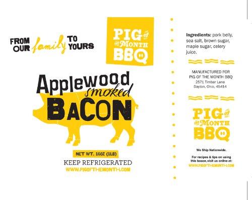 World Famous Applewood Smoked Bacon (3Lbs)