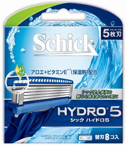 Hydro 5 blade (8 pieces)