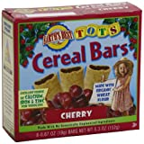 Earth's Best Organic Tots Cereal Bars, Cherry, 5.3-Ounce Boxes (Pack of 6)