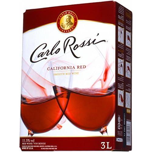 carlo rossi 加利福尼亚乐事红酒   3升×4瓶