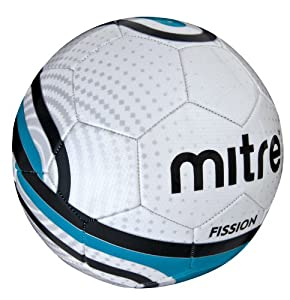 Regent Mitre Fission Size 5 Soccer Ball, White/Blue/Black at Sears.com