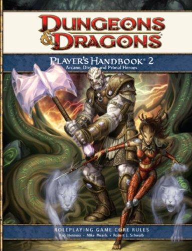 Player's Handbook 2: A 4th Edition D&D Core Rulebook (Bk.2)