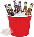 Carson Home Accents Original Rednek Party Bucket, 10-Inch Diameter by 8-Inch High