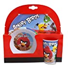 Angry Birds Kid's Melamine Dinnerware Set Includes Plate