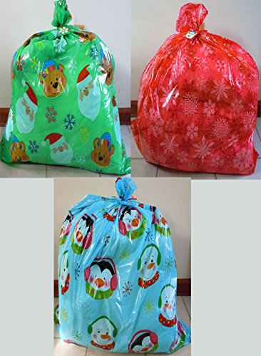 Set of 3 Gift Bags Jumbo/Giant/XLarge 50