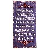 Pledge of Allegiance Wall Decor