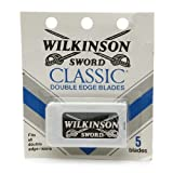 100 Wilkinson Sword Classic Double Edge Safety Razor Blades - Made in Germany